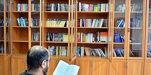 Cezaevi Kütüphanesine Kitap Bağışlandı, Savcı Mahkumlara Seslendi: 'En Çok Okuyan Eşiyle Görüşecek'