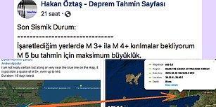 Son Zamanlardaki Deprem Tahminleri Bir Bir Çıkan Facebook Sayfasından Dikkate Değer Uyarılar