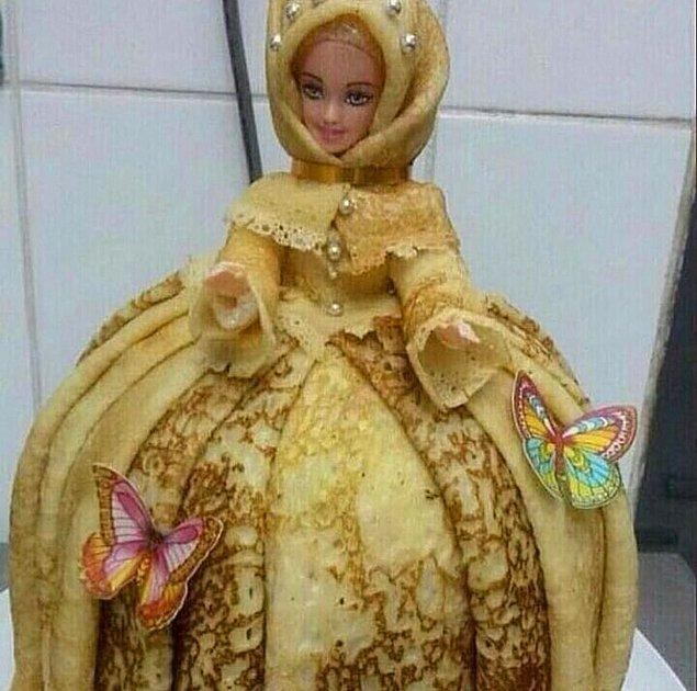 3. Barbie'yi gören tanıyamadı.