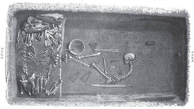 """""""Anquity"""" dergisindeki yazılarıyla araştırmacılar """"Bj.581"""" olarak da bilinen mezarda bulunan kalıntıların kesinlikle bir kadına ait olduğu yanıtını verdi."""