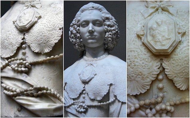 Roma'nın en ünlü ailelerinden birine mensup olan Maria Cerri, 1637'de Bartolomeo Capranica ile evlenmişti.