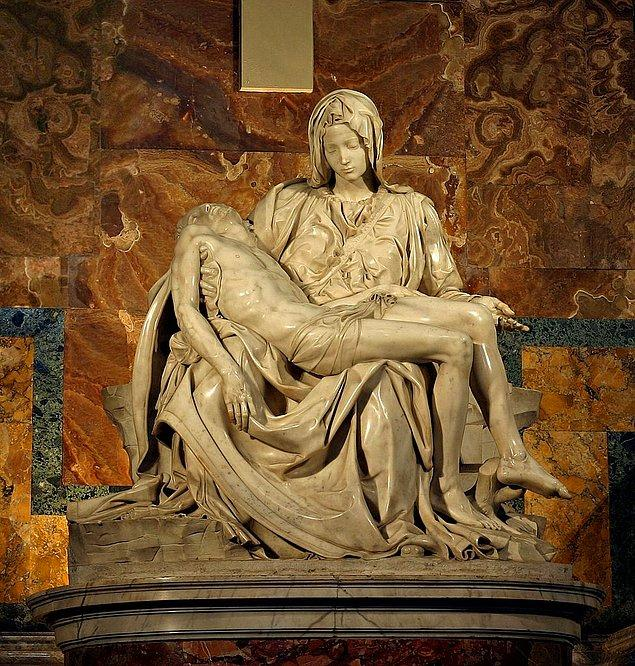 9. Pietà, Michelangelo, 1498-1499.