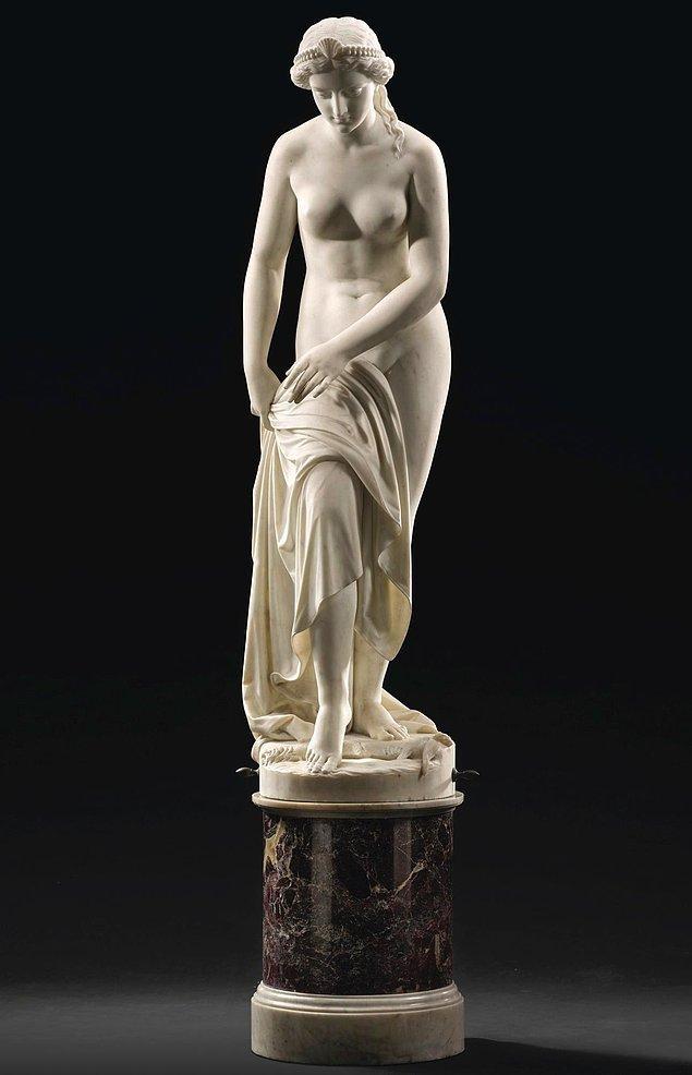 18. Nymph, Giovanni Battista Lombardi, 1864.