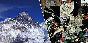 Çin Hükumeti Binlerce Kilo Çöple Dolan Everest Ana Kampını Turist Girişine Tamamen Kapattı