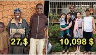 Aylık Geliri 27 Dolar ve 10 Bin Dolar Arası Değişen Ailelerin Arasındaki Adaletsiz Farkı Gösteren Fotoğraflar