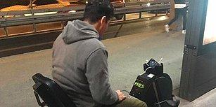 Priz Arama, Pedalla! Metrobüs Durağına Şarj Dolduran Bisiklet Konuldu