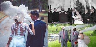 Hem Sağlığa Zararlı, Hem de Gözlere: Yeni Can Sıkıcı Düğün Fotoğrafı Trendi