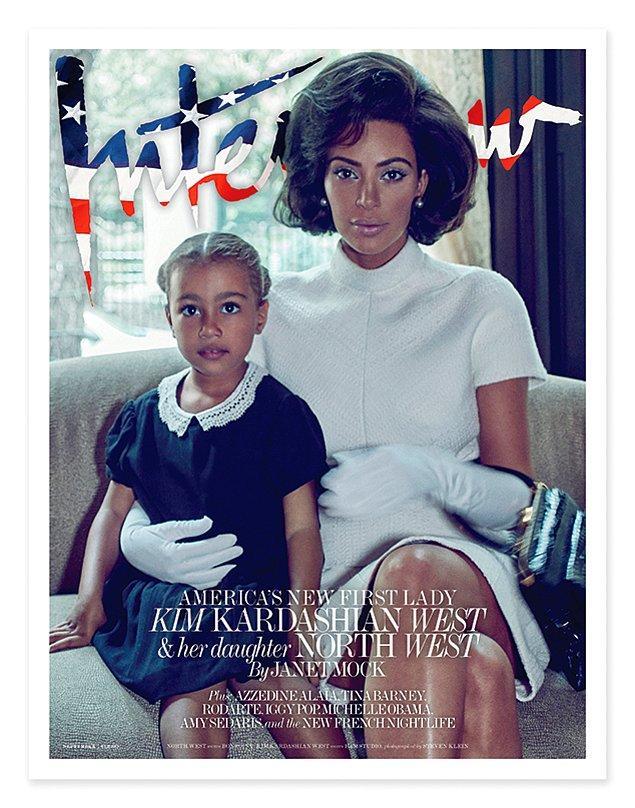 Daha önce de annesiyle dergi kapağına çıkmıştı, ancak pek çok ünlü bebeği veya çocuğuyla dergi kapaklarını süslediği için bu durum konuşulmamıştı.