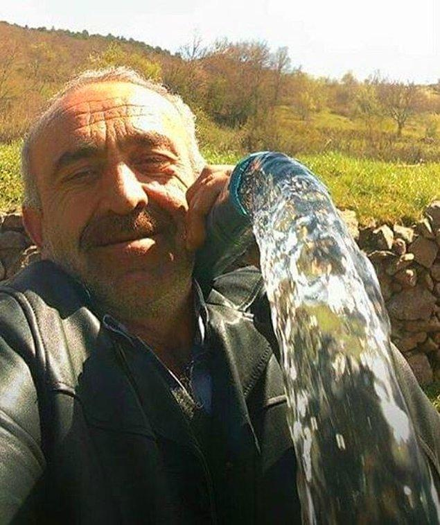 14. Bir su bile insanı neşelendiriyor demek ki. :)