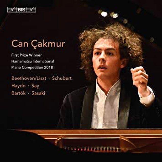 11. Japonya'daki Hamamatsu Piyano Yarışması'nı kazanan Can Çakmur, yarışma birinciliği armağanlarından biri olarak dünyanın en ünlü klasik müzik kayıt markalarından BIS için ilk SACD kaydını doldurdu. Kayıt Nisan 2019'da tüm dünyada satışa sunulacak.