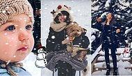 İstanbul'da Etkisini Gösteren Kar Yağışıyla Şenlenen Ünlü İsimlerin Instagram Paylaşımlarını Gördünüz mü?