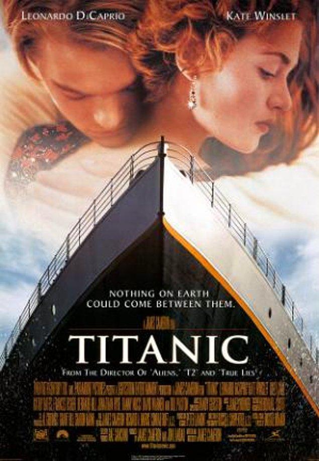 1998: Titanik, dünya çapında 1 milyar dolar üstü hasılat yapan ilk film oldu.