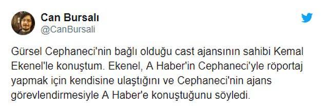 """""""Cast ajansının sahibi Kemal Ekenel'le konuştum"""""""