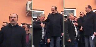 Konya Büyükşehir Belediye Başkanına Tepki Gösteren Vatandaş: 'Cenabet Geziyorum'