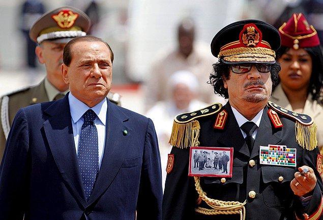 BONUS: Berlusconi'nin bu partileri, Libya lideri Kaddafi'nin Zenga Zenga adı verilen partilerinden esinlenerek düzenlediği biliniyor.
