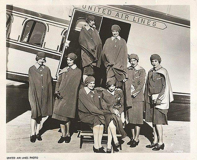10. United Hava Yolları, 1930.