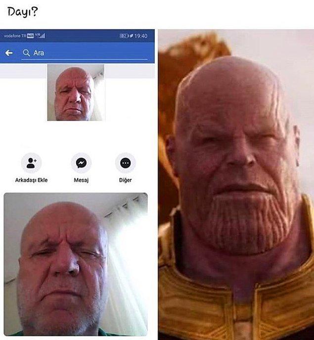 4. Thanos dayı.