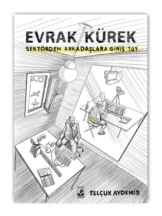 Selçuk Aydemir kitabı Evrak Kürek: Sektörden Arkadaşlara Giriş 101'de Cem Yılmaz'la tanışma hikayesini şöyle bitiriyor.