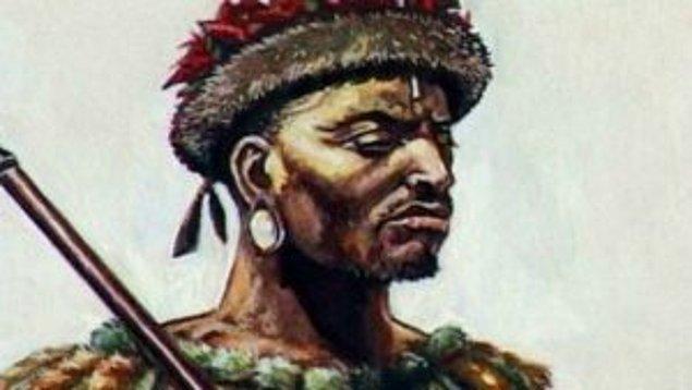 41) Shaka Zulu, 1787-1828