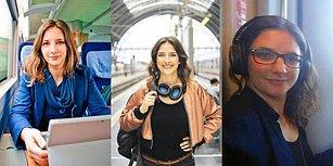 Kira ve Fatura Ödemekten Bıkıp Trenlerde Yaşayan Alman Kadın