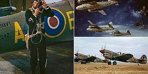 İkinci Dünya Savaşındaki Savaş Uçakları ve Mürettabetın Adeta Dün Çekilmiş Gibi Renklendirilmiş Fotoğrafları