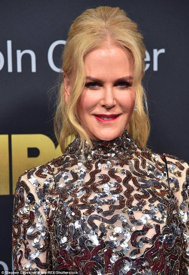 Güzel yıldız Nicole Kidman'ın 'kelebek fobisi' varmış.