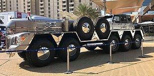 Kendisine 10 Tekerlekli Arazi Aracı Yaptıran Arap Şeyhi