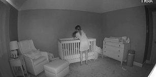 Bebeği Beşiğine Yatırırken Yüksek Korkulukların Azizliğine Uğrayan Annenin Havada Asılı Kaldığı Anlar