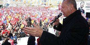 Erdoğan'dan Akşener'e: 'Birileri Cezaevinde Süre Dolduruyor, Sen de Düşebilirsin'
