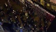 Taksim'de Toplanan Bir Grup 'Ezana Uzanan Eller Kırılsın' Sloganlarıyla Yürüdü
