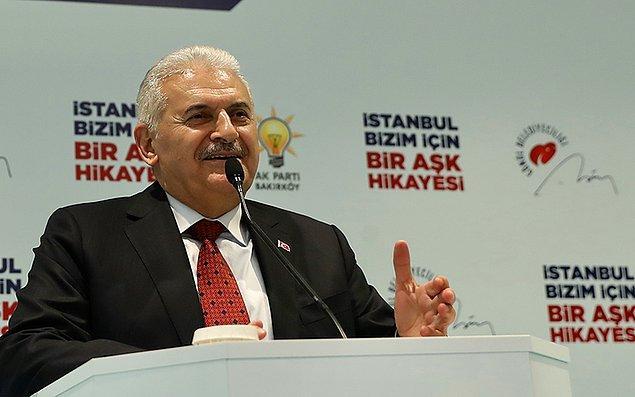 """İstanbul Büyükşehir Belediye Başkan Adayı Binali Yıldırım Alevi Bektaşi dernekleriyle gerçekleşen """"Can'larla Buluşma"""" programına katıldı."""