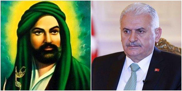 """Bir kültür mozaiği olan Türkiye'de tüm halkların ve mezheplerin barış içinde yaşadığını ifade eden Binali Yıldırım, oy isterken """"Adımı, Alevi komşumuz koydu. Adımda Ali var"""" dedi."""