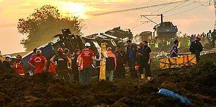 TCDD Çorlu'daki Tren Kazasının 7 Nedenini Açıkladı: 'Şirkete Atfedilecek Bir Kusur Yok'