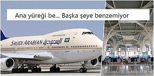 Yolculardan Biri Bebeğini Unuttuğu İçin Geri Dönmek Zorunda Kalan Suudi Arabistan Hava Yolları Uçağı