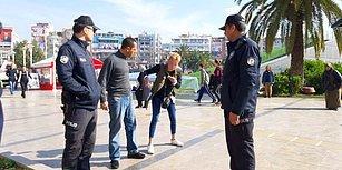 Taksiciyi Rehin Alan Kadın, Polislere Teslim Olmak İstemeyince Sure Okumaya Başladı