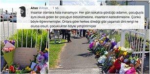 Kutuplaşmayacağız, Bir Arada Yaşayacağız! Yeni Zelanda'daki Saldırılar Sonrası Camilerin Önüne Çiçek ve Notlar Bırakan Güzel İnsanlar