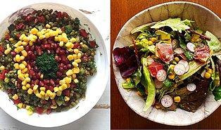 Bu Bahar Sofralarınızı Renklendirecek 12 Mükemmel Salata Tarifi