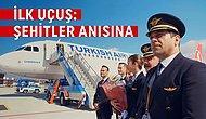 Dur Yolcu! THY, İstanbul'dan Çanakkale'ye İlk Uçuşunu Destansı Zaferin Tüm Kahramanlarına Adadı!