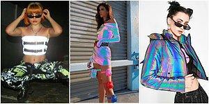 Metrelerce Öteden Bile Dikkat Çekmek İsteyenler İçin Yılın En Popüler Trendi Olmaya Aday Reflektörlü Kıyafetler