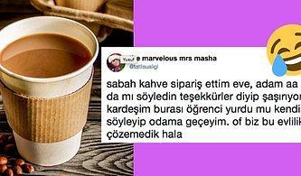 Bir Kahve İnsanları Nasıl Şok Eder? Twitter Ahalisinin Eve Sipariş Verilen Kahveyle Olan Garip Ama Komik İmtihanı