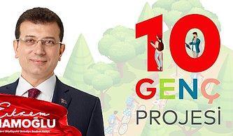Aydınlık Geleceği Gençlerin Yazacağını Bilen İstanbul Büyükşehir Belediye Başkan Adayı Ekrem İmamoğlu'nun 10 Genç Projesi