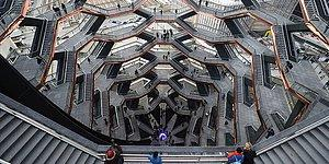 ABD Devasa Bal Peteğine Kavuştu: Devasa Yapı 'The Vessel' Ziyaretçilere Açıldı