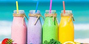 Yaza Daha Sağlıklı Hazırlanmak İsteyenler Buraya!  Her Güne Farklı Bir Renk Smoothie Tarifi