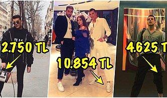 Lükse Düşkünlüğü ile Bilinen Kerimcan Durmaz'ın Kıyafet ve Aksesuarlarının Fiyatları Küçük Dilinizi Yutturacak!