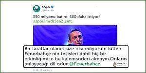 A Spor'un Ali Koç'u Hedef Aldığı '350 Milyonu Batırdı, 300 Daha İstiyor' Başlıklı Haberi Fenerbahçe Taraftarlarını Kızdırdı