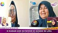 Günde 25 Litre Su İçen 66 Yaşındaki Necla Teyze ve O Teyzeye Sosyal Medyadan Gelen Tepkiler!