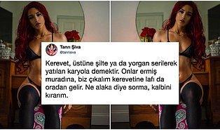İç Çamaşırlı Fotoğrafıyla 'Bana Bilmediğim Bir Şey Söyle' Diyen Kadına Türkler Tarafından Verilmiş Aşırı İlginç Bilgiler