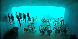 Balıkların Arasında Otantik Bir Ortam! Avrupa'nın İlk Su Altı Restoranı Norveç'te Açılıyor