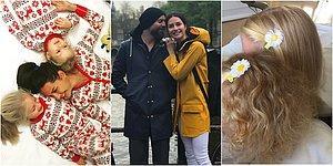 Yasemin ve İzzet Özilhan'ın Kızları Emine ve Ela ile Kurdukları Hepimizi İmrendiren Mutlu Aile Tabloları