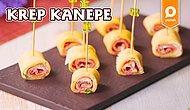 Atıştırmalıkların En Şık Ve Lokmalık Olanı: Krep Kanepe Nasıl Yapılır?